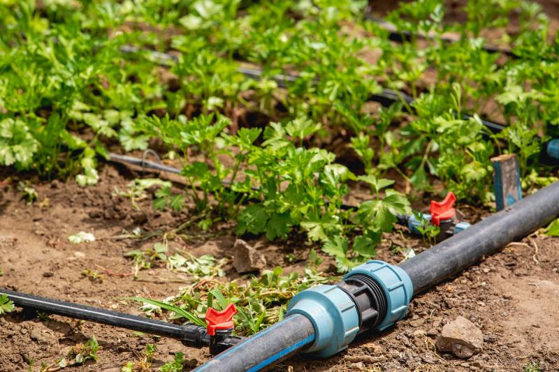 Bewässerungssystem der Marke HOLZBRINK