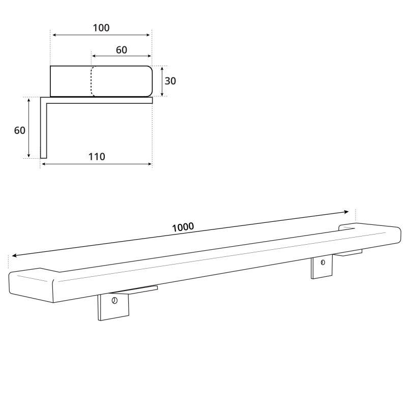 Handlauf-rechteckig-Abschluesse-90-Grad-Holzbrink Tech