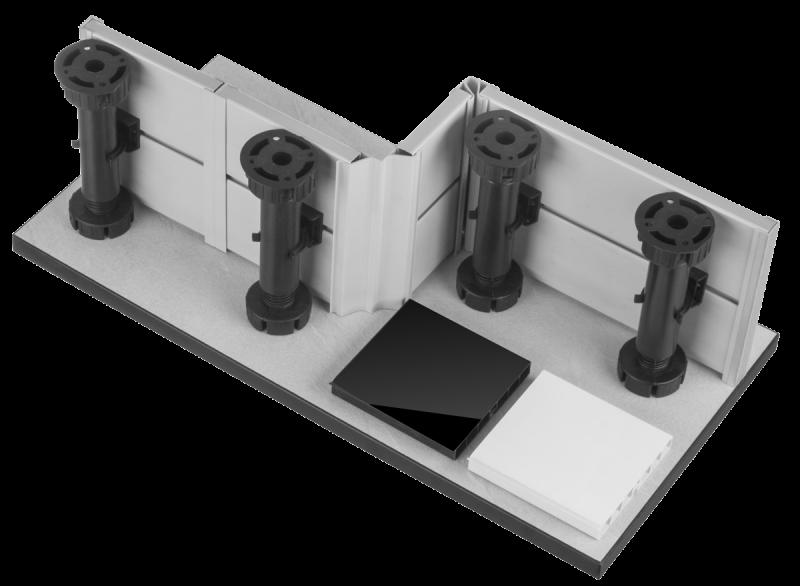 Sockelsystem für Einbauküchen HOLZBRINK