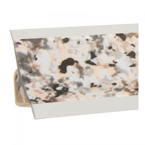 Küchenabschlussleiste Granit PVC150cm