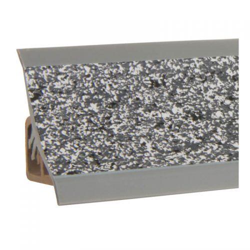 HOLZBRINK Endst/ück passend zum Dekor Ihrer Abschlussleisten Vollaluminium K/üchenabschlussleiste 23x23 mm