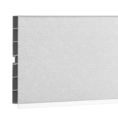 Sockelblende HBK10 150 cm Aluminium gebürstet HOLZBRINK