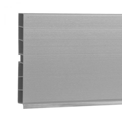 Sockelblende HBK10 150 cm Aluminium Satin HOLZBRINK